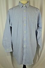 New Brooks Brothers Dress Shirt Size 16.5/33 Striped Cotton Non Iron Career $79