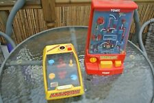 TOMY YEEAGHH! and AAAAGH!! Vintage 1980s Battery operated Skill Games