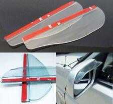 2x Universal Transparent Car Rear View Side Mirror Rain Board Sun Visor Shade