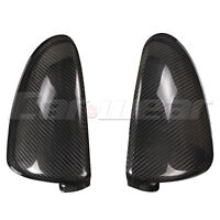 Carbon Fiber Side Mirror Cover Caps for Benz Smart Fortwo 2009-14 Sticker