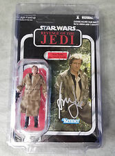 Harrison Ford Signed Autographed Carded Star Wars Han Solo Action Figure