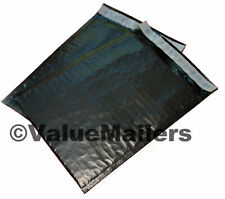 2 Black 85x12 Poly Bubble Mailers Envelopes Shipping Bags 85x12 100 To 2000
