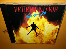 FIRE AND ICE Feuer Und Eis CD soundtrack HAROLD FALTERMEYER gary wright marietta