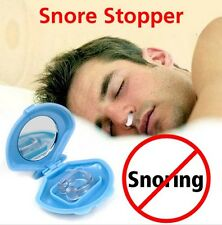 2 x Anti Snore Sleeping Aid - Stop Snoring Nose Clip Solution