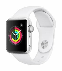 Brand New Apple Watch Series 1 42mm Aluminum Case White Sport Band - (MNNL2LL/A)