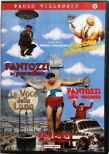 Dvd Paolo Villaggio - Cofanetto vol. 01 - 5 dischi (Fantozzi, Fracchia) Usato