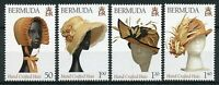 Bermuda Fashion Stamps 2019 MNH Hand Crafted Hats Cultures Traditions 4v Set