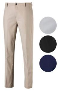 Puma Jackpot Golf Pants 578181 Men's Flat Front New - Choose Color & Size