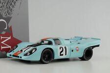 1970 Porsche 917K #21 Gulf 24h le Mans Rodriguez/Kinnunen 1:18 Cmr Diecast