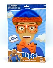 Be Like Blippi Dress Up Role Imaginary Costume Roleplay Play Set Hat Glasses 3+