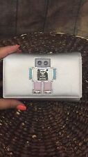 MCM Metalic Roboter Medium Wallet Limited - Authentic MWT