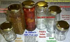53mm Lids x25 © Recycle Bottles + Jars for Preserving!!