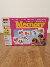 Funskool Games Memory Alphabet & Numbers Vintage 1994 Brand New Sealed Ages 3-6