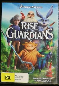 Rise Of The Guardians (DVD, 2013) - Region 4 - Preowned Sent Tracking (D609)