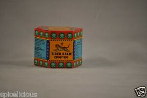 Tiger Pain and Ache Relieving Herbal Balm | Analgesic Red 18gm (FREE SHIPPING)