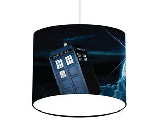 Dr Who Lampshade - Ceiling or Table lamp - FREE personalisation (if required)