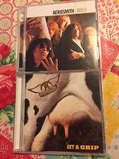 AEROSMITH Gold (CD Jan-2005, 2 Discs, Geffen) Best Of + BONUS Get A Grip CD!!!