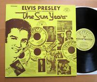 Elvis Presley Interviews & Memories Of The Sun Years 1977 EXCELLENT LP SUN 1001