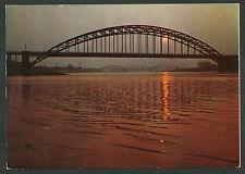 Nijmegen  De Waal bij Nijmegen  Verkeers- en Spoorbrug
