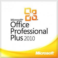 MICROSOFT OFFICE 2010 Professional Plus 1PC Windows Lifetime - Multiple Language
