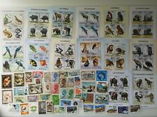 More details for 100 different ivory coast stamps collection