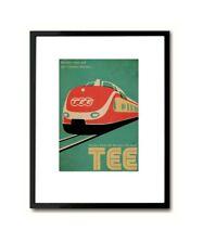 Kraftwerk Trans Europa Express Poster Art Print