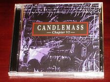 Candlemass: Chapter VI CD + Live 1993 DVD Set 2006 Bonus Peaceville Germany NEW