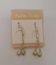 Women Fashion Drop Dangle Earrings Silver Tones Hook Fastener FASHION JEWELRY