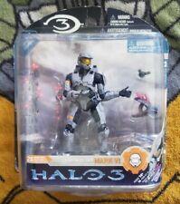 Halo 3 Series 3 Spartan Soldier Mark VI Silver MISB Mcfarlane Toys