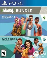 The Sims 4 Base Game Plus Cats & Dogs Expansion Pack Bundle (PlayStation 4 PS4)