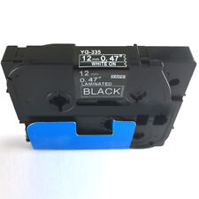 Compatible for Brother P-Touch Laminated Tze Tz Label Tape 12mm Width.