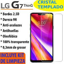 Cristal Templado Protector De Pantalla Para LG G7 ThinQ Vidrio 2.5D 9H