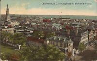 Charleston, SOUTH CAROLINA - Birdseye from St. Michael's Steeple - 1914