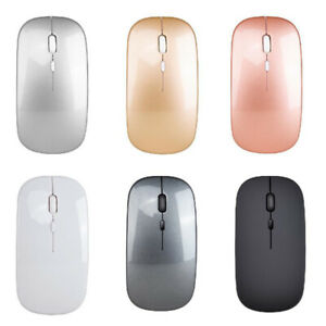 Rechargeable Wireless Mouse 2.4G Silent Mouse Slim Mute Office Notebook Mice