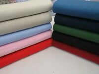 Beautiful 10 Colours Washed 100% Pure Linen Fabric 140cms Wide Per Metre