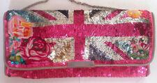 Monsoon Floral Magnetic Snap Handbags