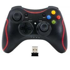 QUMOX Wireless Gamepad for PC - Black
