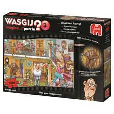 Wasgij Puzzle 1000 Piece Slumber Party Jigsaw Jumbo Imagine #3 3 Cartoon Comic
