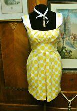 🌞Sleeveless Yellow Polka Dot Mini Dress & Jacket🌞 Summer Cocktail Party 🌞