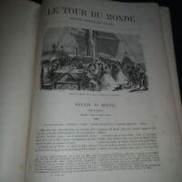 Le tour du monde: nouveau journal des voyages deuxième semestre 1861