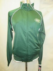 New York Jets Women S L Full-Zip Two-Tone Track Jacket G-III NFL