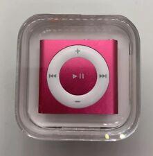 Apple iPod Shuffle 4. Generation light rosa rosa 2gb New nuevo sellado Sealed