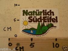 STICKER,DECAL NATURLICH SUD-EIFEL BITBURG
