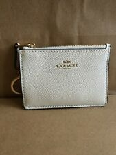 Coach Leather Mini ID Skinny F11836