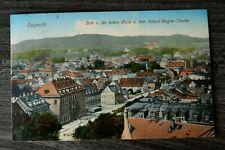 Bayern AK Bayreuth 1912 OFR Ort Straße Häuser Gebäude Festspielhaus Umland (2