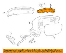 MAZDA OEM CX-3 Door Side Rear View Mirror-Turn Signal Lens Right D10E69122A