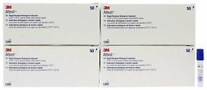 3M Attest 1291Rapid Readout BiologicalIndicator 200 PKG (4 Boxes of 50)