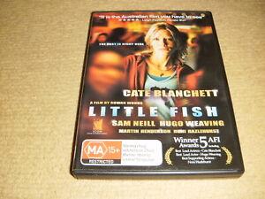 LITTLE FISH drama 2005 DVD as NEW Cate Blanchett sam neill Hugo Weaving crime R4