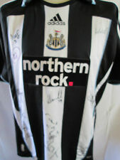 Newcastle United Home Football Shirt Signed by 2007-2009 Squads with our COA