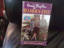 Five Go Off in a Caravan-Enid Blyton Paperback English Genre Fiction Hodder 1996